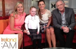 Claudia and Liz Scanlon pictured with Sinead Desmond and Mark Cagney